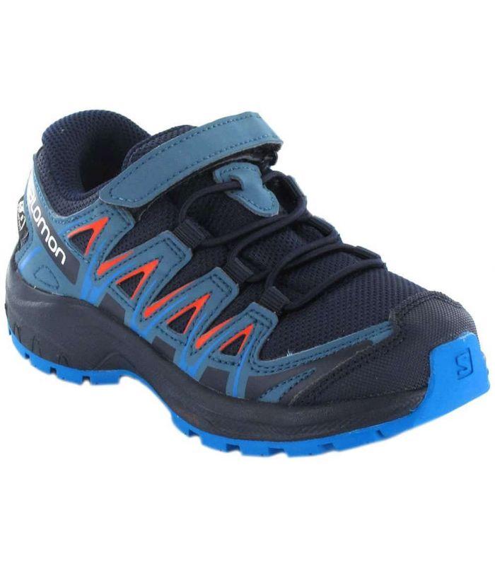 Salomon XA PRO 3D CSWP K Navy - Zapatillas Trail Running Junior - Salomon azul marino 28