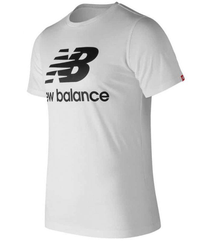 New Balance Essentials Stacked Logo WT