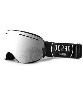 Ocean Cervino Silver Black Mascaras de Ventisca Gafas Sol Ocean