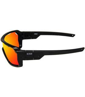 Ocean Chamaleon Shinny Black / Red Revo Ocean Sunglasses Gafas de Sol Sport Gafas Sol Color: negro