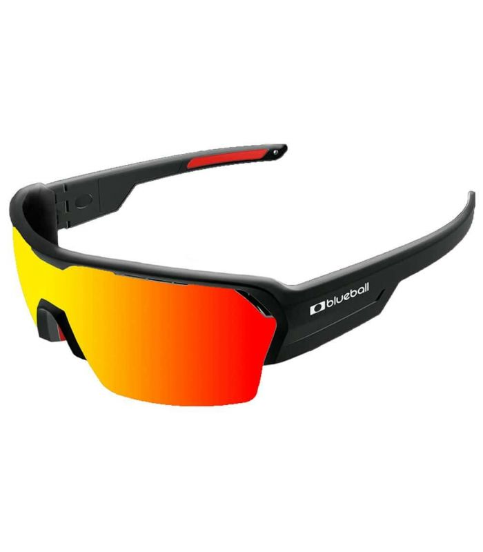 Blueball Aizkorri Shinny Black / Revo Red - Sunglasses Sport