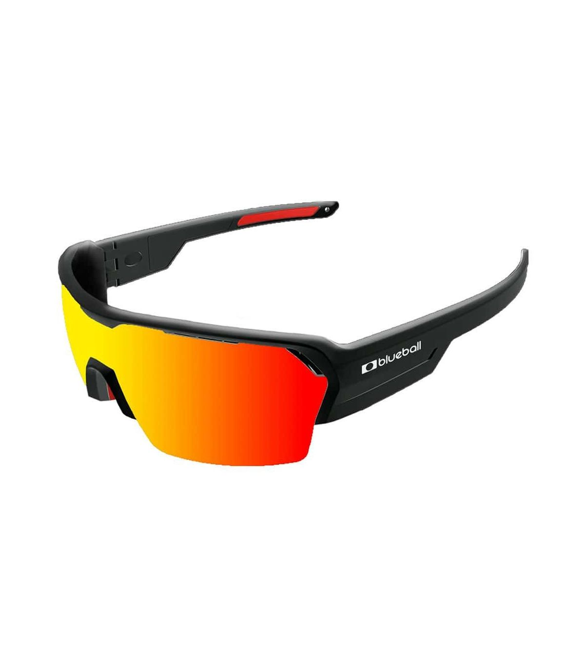 Blueball Aizkorri Shinny Black / Revo Red Blueball Gafas de Sol Sport Gafas de Sol Color: negro