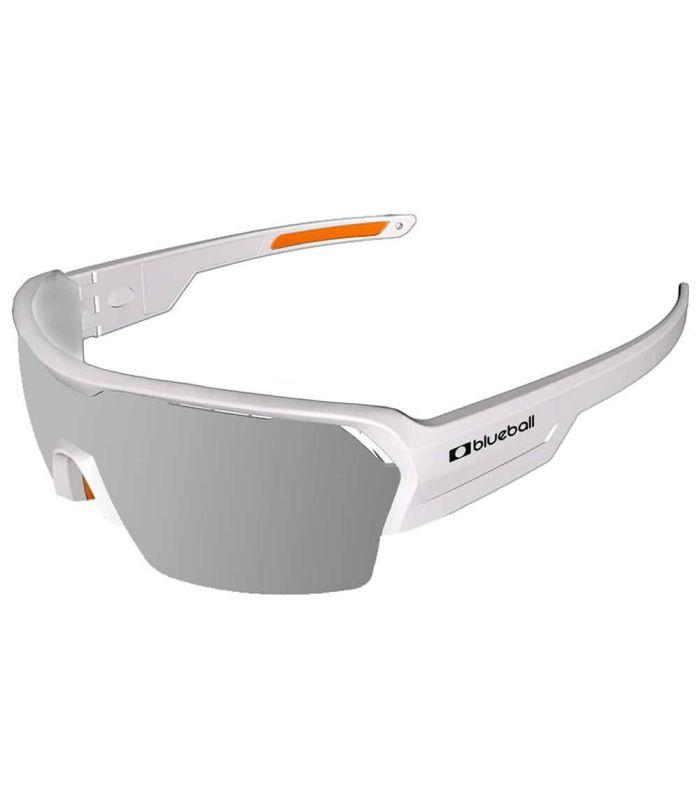 Blueball Aizkorri Matte White / Revo Grey Blueball Gafas de Sol Sport Gafas Sol Color: blanco