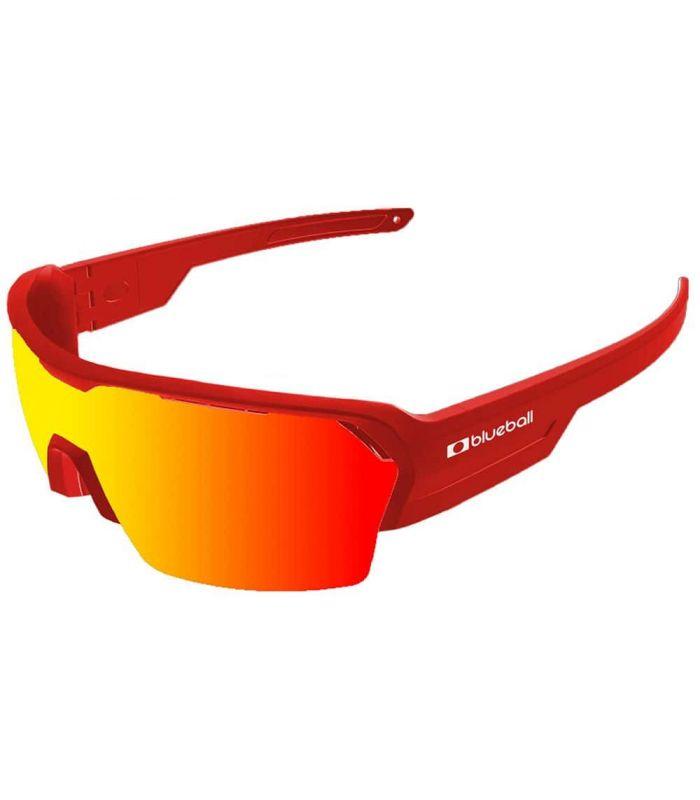 Blueball Aizkorri Matte Red / Revo Red Blueball Gafas de Sol Sport Gafas de Sol Color: rojo