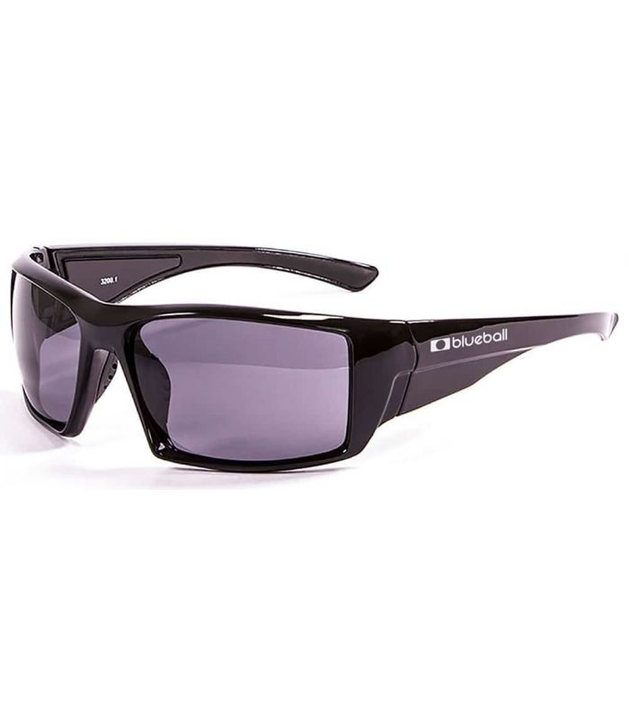 Blueball Monaco Shiny Black / Smoke - Sunglasses Sport
