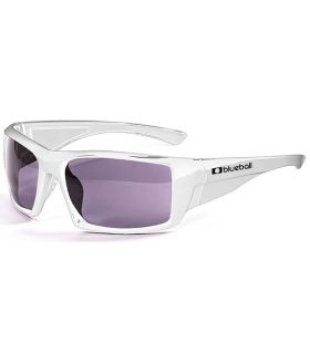 Blueball Monaco Shiny White / Smoke Blueball Gafas de Sol Sport Gafas Sol Color: blanco