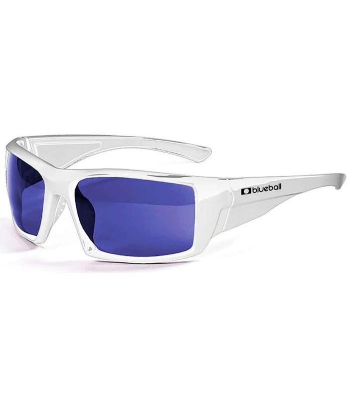 Blueball Monaco Shiny White / Revo Blue Blueball Gafas de Sol Sport Gafas de Sol Color: blanco