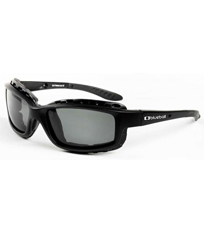 Blueball Saint Malo Matte Black / Smoke - Sunglasses Sport