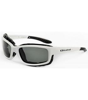 Blueball Saint Malo Shiny White / Smoke Blueball Gafas de Sol Sport Gafas Sol Color: blanco