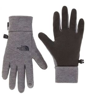 The North Face Etip Glove W Gris The North Face Gorros - Guantes Textil montaña Tallas: xs, s, m; Color: gris
