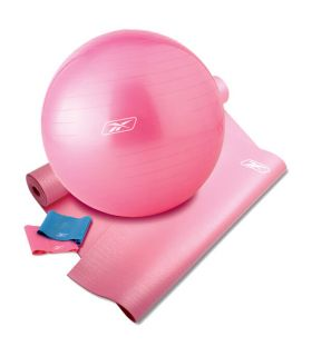 Reebok Mind and Body Set Reebok Colchonetas fitness Fitness Color: fucsia