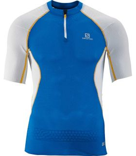 Salomon S-Lab Exo Zip Tee Azul