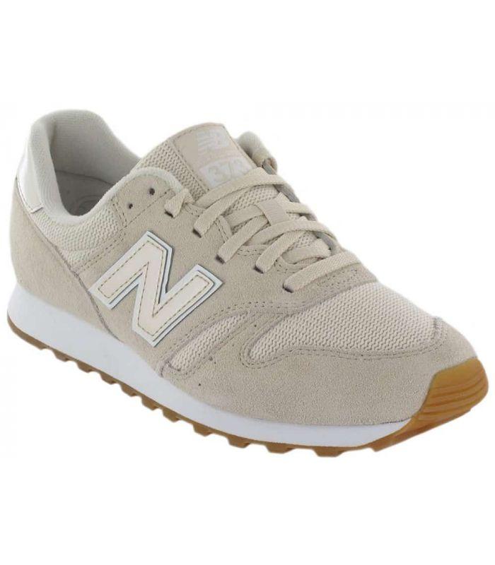 zapatillas new balance mujer color beige