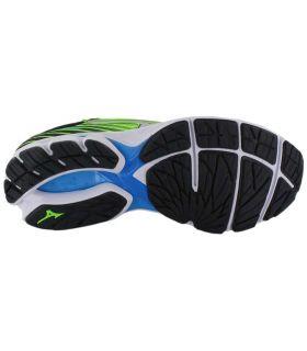 Mizuno Wave Rider 22 Verde Zapatillas Running Hombre Zapatillas