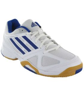 Adidas Opticourt Ligra 2 Adidas Calzado Indoor Calzado Tallas: 40 2/3, 42, 44, 44 2/3, 46; Color: blanco