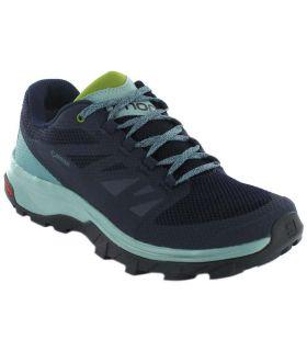 Salomon OUTline W Gore-Tex - Zapatillas Trekking Hombre - Salomon azul marino 37 1/3, 38