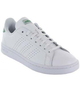Adidas Advantage Blanco Adidas Calzado Casual Hombre Lifestyle Tallas: 40 2/3, 41 1/3, 42, 42 2/3, 43 1/3, 44, 44 2/3