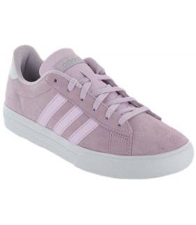 Adidas Daily 2.0 Adidas Calzado Casual Mujer Lifestyle Tallas: 37 1/3, 38, 38 2/3, 40, 40 2/3; Color: rosa