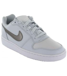 Nike Ebernon Low W Gris - Calzado Casual Mujer - Nike gris 37,5, 38, 38,5, 39, 40, 40,5