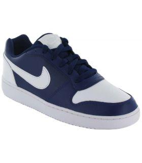 Nike Ebernon Low Azul Nike Calzado Casual Hombre Lifestyle Tallas: 41, 42, 42,5, 43, 44, 44,5, 45, 45,5, 46; Color: