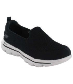Skechers GO walk Evolution Ultra Negro - Calzado Casual Mujer - Skechers negro 36, 37