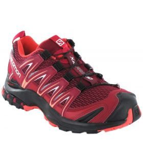 Salomon XA Pro 3D W Granate - Zapatillas Trail Running Hombre - Salomon granate 37 1/3