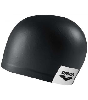 Sand Cap Swimming Logo Moulded Black