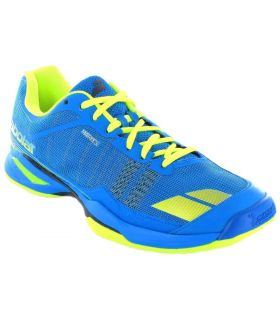 Babolat JET Team Clay Azul - Calzado Padel - Babolat azul 43, 44, 44,5