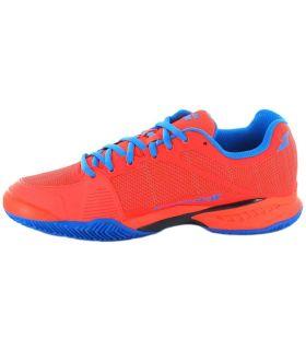 Babolat JET Team Clay Rojo Babolat Calzado Padel Padel Tallas: 42, 42,5, 44,5, 46; Color: rojo