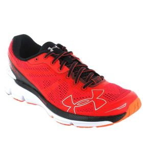 Under Armour Charged Bandit Red