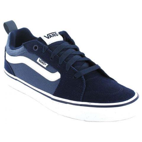 Vans Filmore Y Azul Vans Calzado Casual Junior Lifestyle Tallas: 35, 36, 36,5, 37, 38, 39, 38,5; Color: azul marino