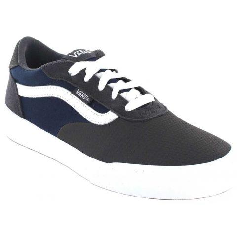 Vans Palomar Y Gris Azul Vans Calzado Casual Junior Lifestyle Tallas: 35, 36, 36,5, 37, 38, 38,5, 39; Color: gris