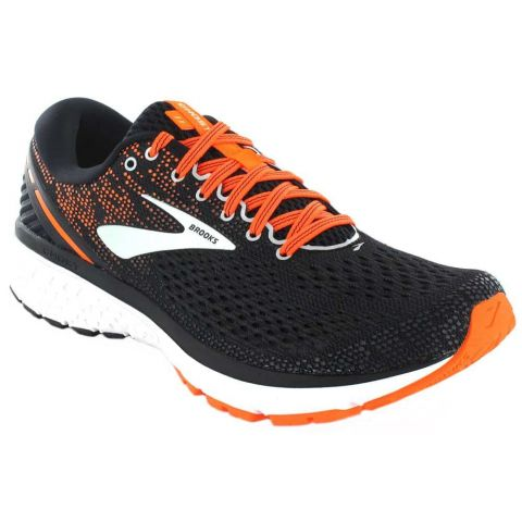 Brooks Ghost 11-Noir-Orange