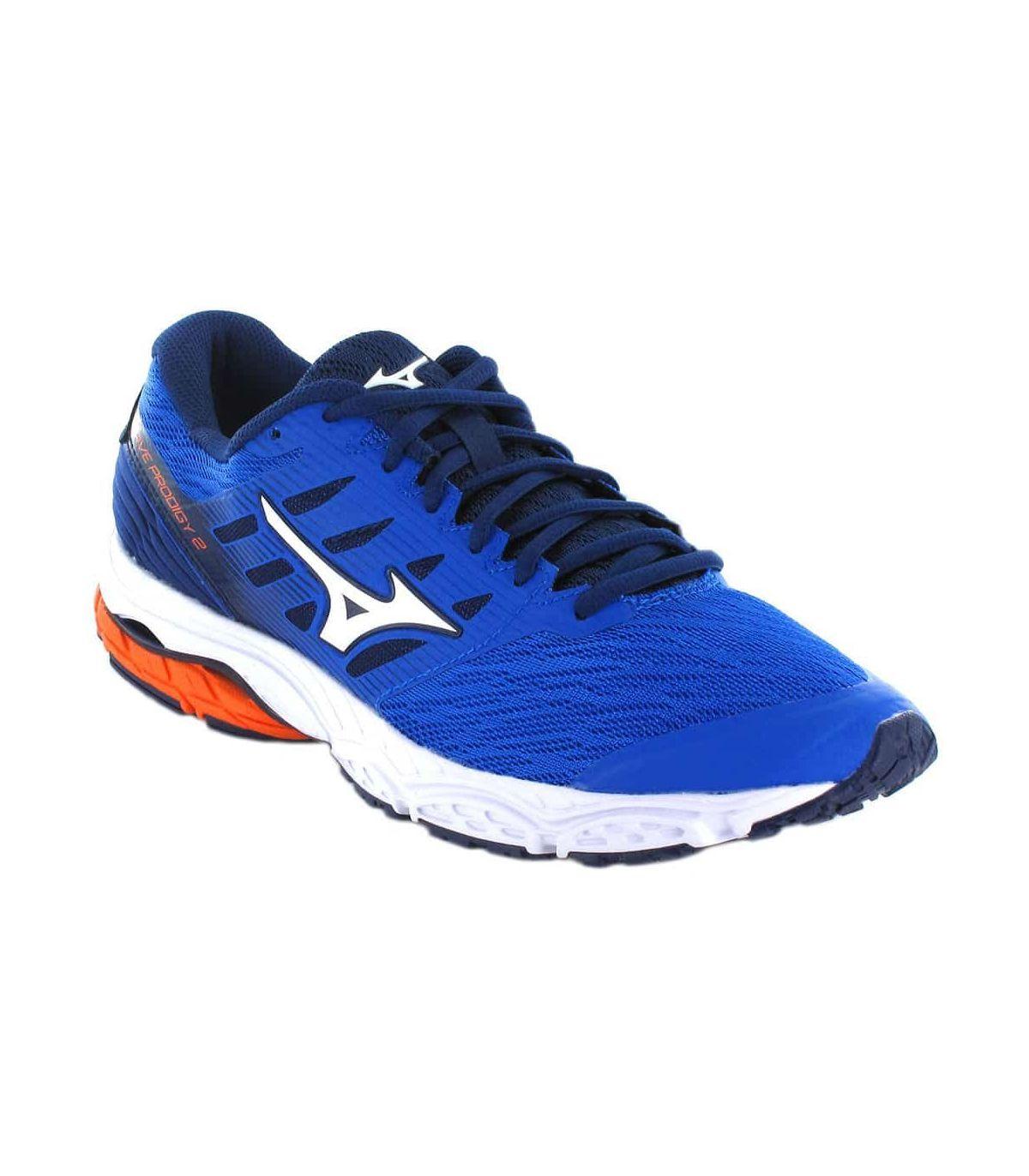 Mizuno Wave Prodigy 2 Azul Mizuno Zapatillas Running Hombre Zapatillas Running Tallas: 41, 42, 43, 44, 44,5, 45, 46