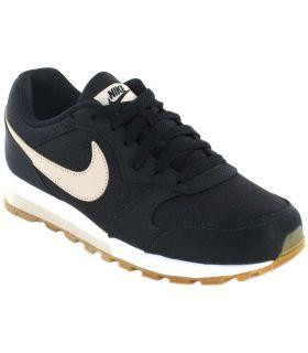 Nike MD Runner 2 W 003 Nike Chaussures de Femmes de mode de Vie Décontracté Tailles: 37,5, 38, 39, 40, 41, 36; Couleur: noir