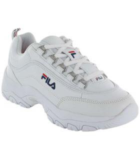 Fila Strada Low W Fila Calzado Casual Mujer Lifestyle Tallas: 37, 38, 39, 40, 41; Color: blanco