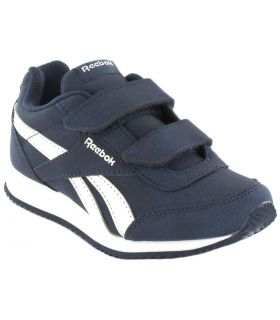 Reebok Royal Classic Jogger 2.0 Velcro Reebok Chaussures Sport Style De Vie Junior Tailles: 27,5, 28, 29, 30, 31, 30,5, 31,5