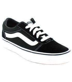 Vans Ward Y Negro Vans Calzado Casual Junior Lifestyle Tallas: 33, 34, 35, 36, 32; Color: negro