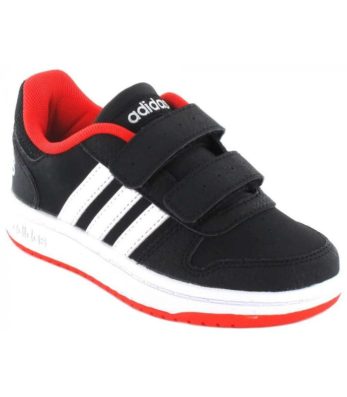Adidas Hoops 2.0 CMF C Adidas Chaussures sport style de Vie Junior Tailles: 28, 28,5, 29, 30, 30,5, 31, 31,5, 32, 33, 33,5