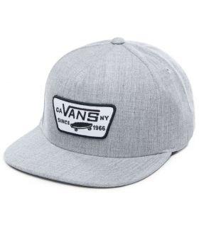 Vans Hat Full Patch Snapback Gris Vans Chapeaux, Visières Running Textile Running Couleur: gris