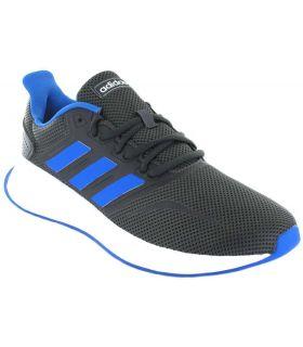 Adidas Runfalcon Gris Azul Adidas Zapatillas Running Hombre Zapatillas Running Tallas: 41 1/3, 42, 42 2/3, 43 1/3, 44