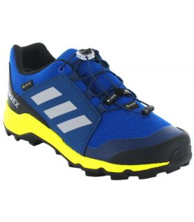 Adidas Terrex Gore-Tex K Blue Adidas Running Shoes Trekking Kids Footwear Mountain Carvings: 34, 35, 36 2/3, 37 1/3, 38, 38