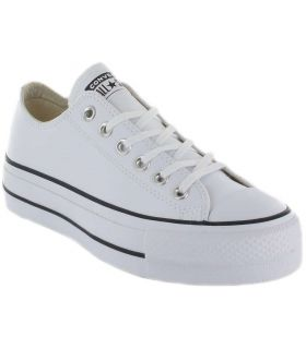 Converse Chuck Taylor All Star Lift Clean Leather Low White-Converse Shoes Women's Casual Lifestyle The