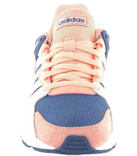 Adidas Chaos J Adidas Chaussures sport style de Vie Junior Tailles: 38, 38 2/3, 39 1/3, 40, 37 1/3; Couleur: rose