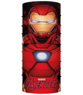 Buff Super Heroes Buff Capitan Iron Man Buff Buff Montaña Montaña Color: rojo