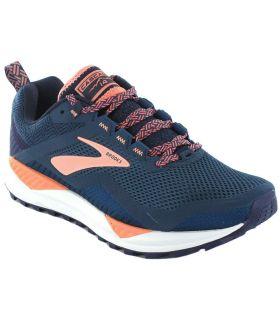 Brooks Cascadia 14 W Bleu Brooks Chaussures de Trail Running Femmes Chaussures de Course Trail Running Tailles: 37,5, 38,5, 39,
