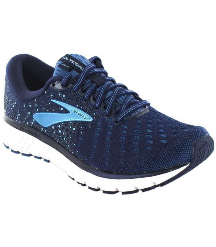Brooks Glycerin 17 W Azul - Zapatillas Running Mujer