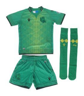Macron Real Sociedad Kit Officiel 2 2019/2020 Macron Kits de football Officiel de Football Tailles: xs; Couleur: vert
