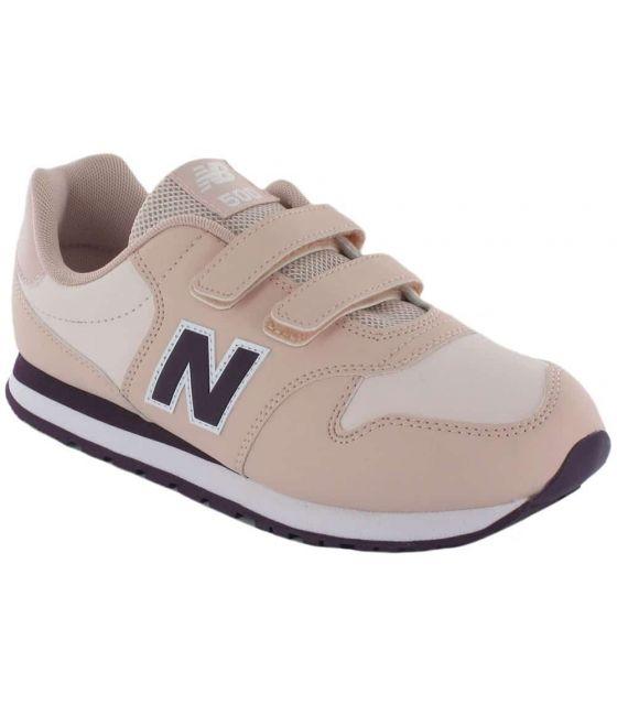 New Balance YV500EB New Balance Chaussures de mode de Vie Décontracté Tailles Junior: 29, 30, 36, 37, 38, 39, 40; Couleur: rose
