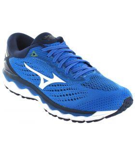 Mizuno Wave Sky 3 Azul Mizuno Zapatillas Running Hombre Zapatillas Running Tallas: 42,5, 44,5, 45; Color: azul